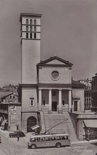 Lausanne église catholique
