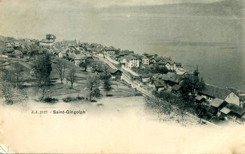 Le village de Saint-Gingolph