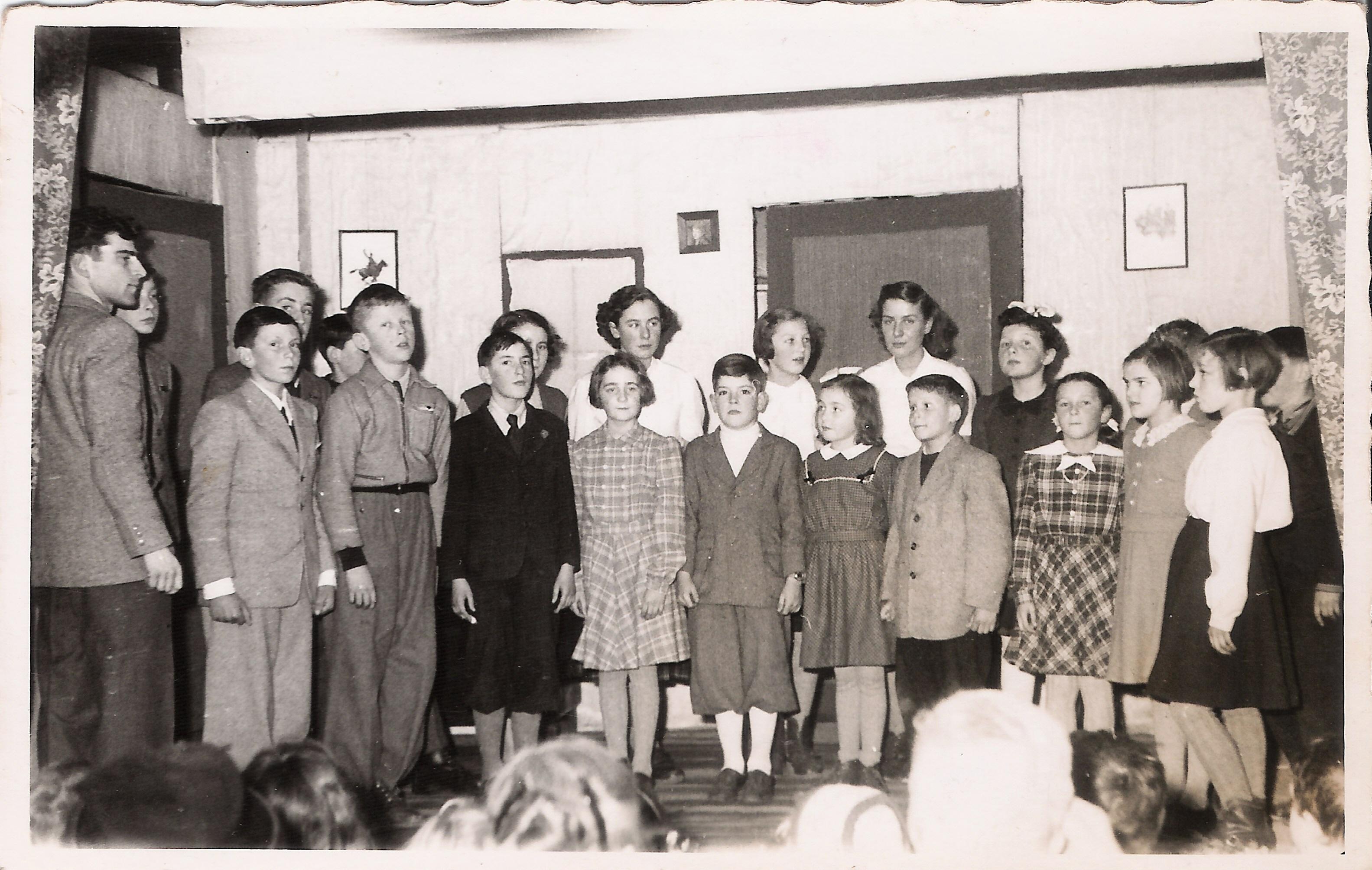 Bettens soirée classe ~1952