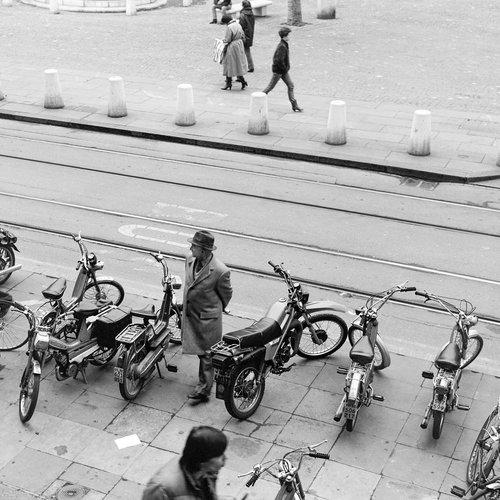 Genève, les vélomoteurs