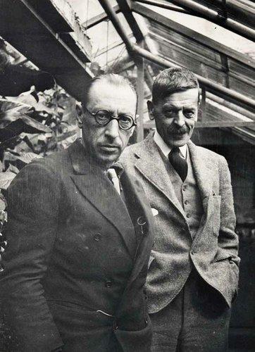 C.F. RAMUZ et Igor STRAWINSKI, 1934
