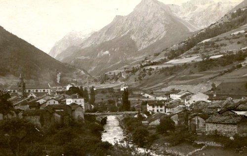 Le village d'Orsières