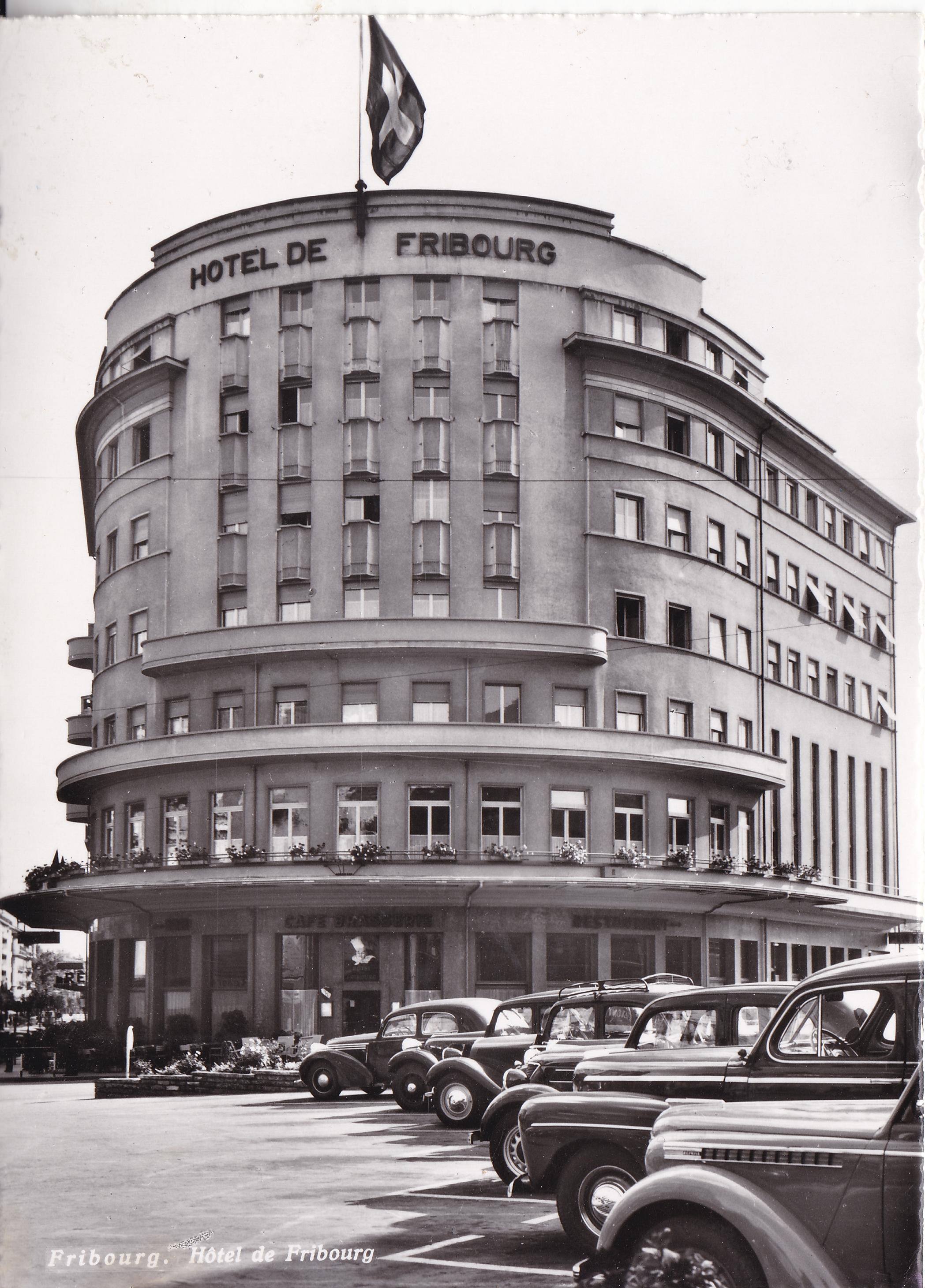 Fribourg Hôtel de Fribourg