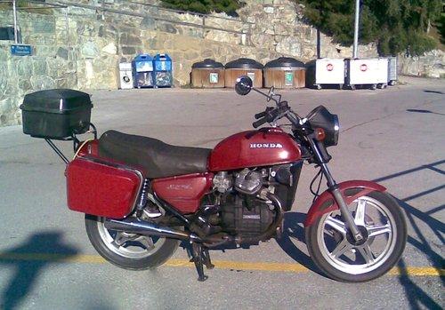 Motocyclette Honda