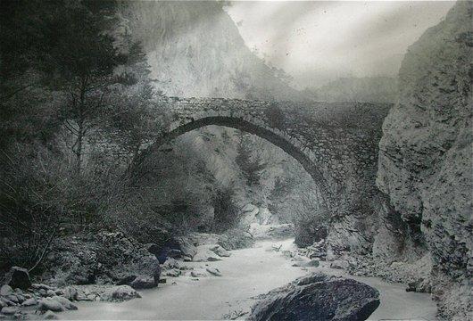 Un Aqueduc qui enjambait la Lienne
