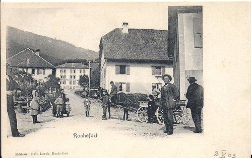 Attelage à Rochefort
