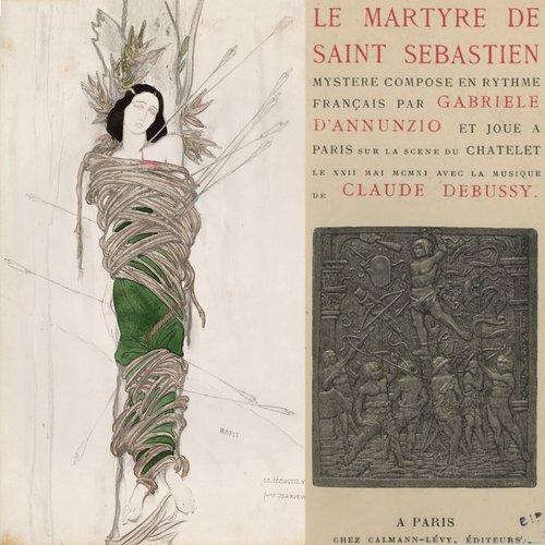 Claude DEBUSSY, Le Martyre de Saint Sébastien, 1ère et 2e «mansions», OSR, Ernest ANSERMET, 1953