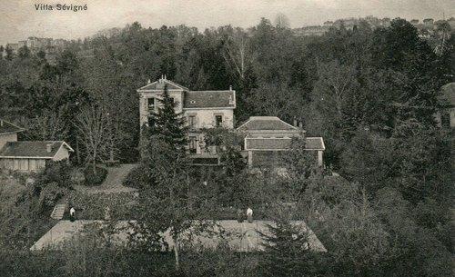 Lausanne Ouchy la villa Sévigné