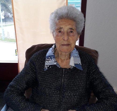 Mathilde ABBET a cent deux ans