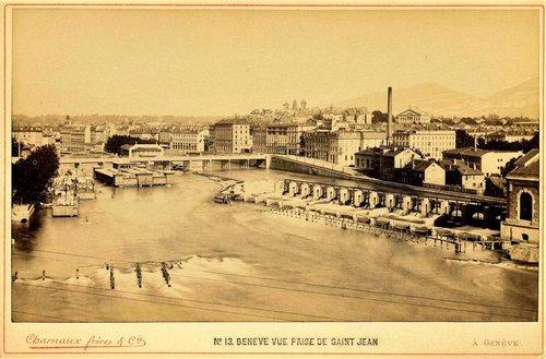 Le Rhône vu de Saint Jean