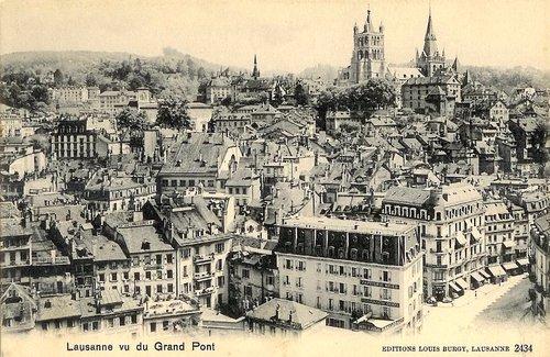 Lausanne et sa cathédrale