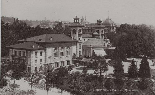 Lausanne le casino de Montbenon