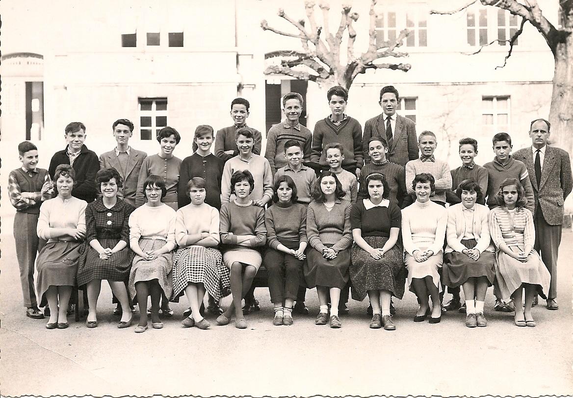 Classe primaire supérieure, collège de Beaulieu, Lausanne