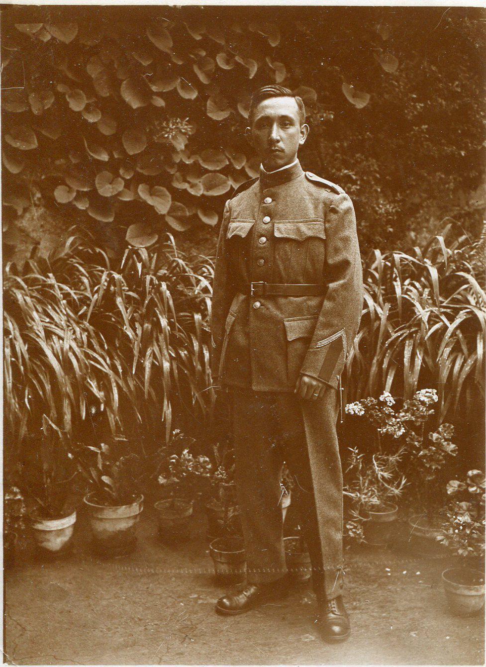 Raymond Wagen - Armée