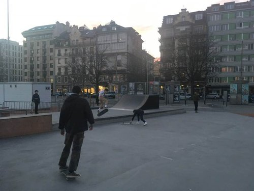 United skates of Plainpalais