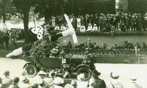 Fête des Narcisses  Montreux, 1925