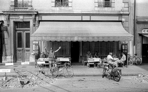Genève, le cycliste