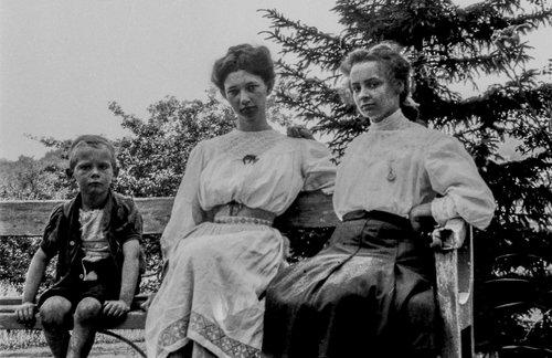Suzanne, Emilie et Fréderic