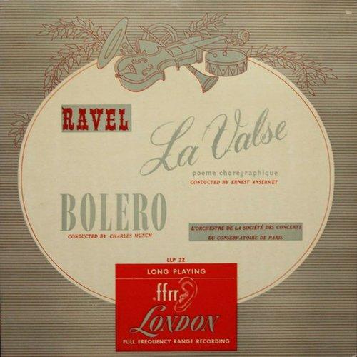 Maurice RAVEL, La Valse, OSCCP, Ernest ANSERMET, 1947