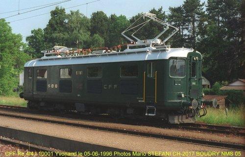 Les locomotives CFF Re 4/4 I