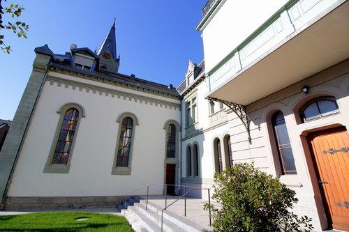 Une des églises de Montreux