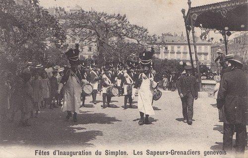 Fêtes de l'inauguration du Simplon