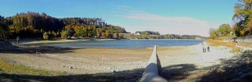 Puidoux - Le bas niveau du Lac de Bret