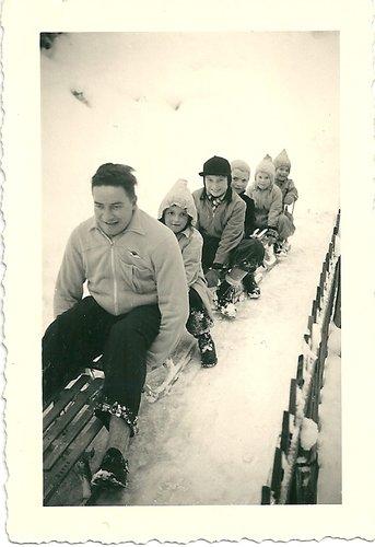 Luge au Val-de-Ruz, 1952