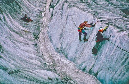 Escalade de glace
