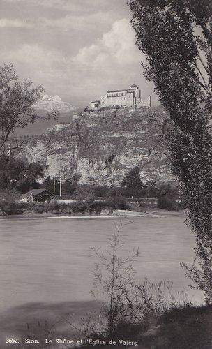 Le Rhône et Valère