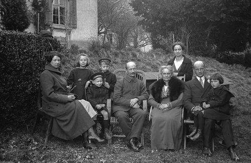 La famille Chappuis de Bremblens en 1920