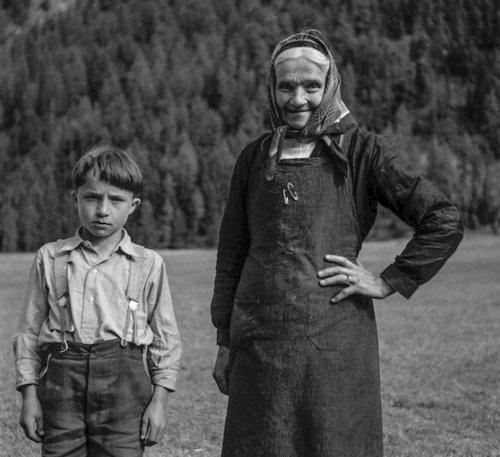 Famille Pellouchoud au Val d'Arpette