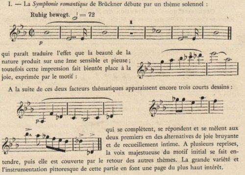 Anton Bruckner, Symphonie No 4, présentation, I