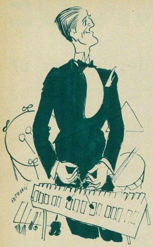 Charles PESCHIER, croqué par Petrovic