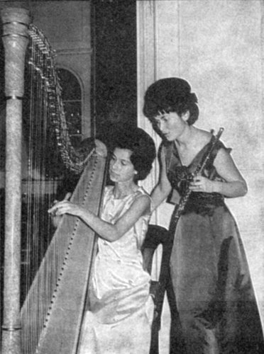 Brigitte BUXTORF et Catherine EISENHOFFER, 1965