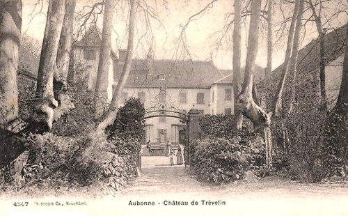 Aubonne, château de Trévelin