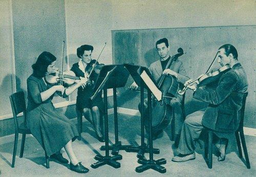 Visages de l'OSR - Henri HONEGGER, 1947