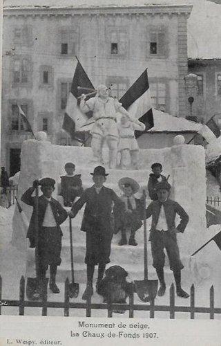 La Chaux de Fonds concours de neige