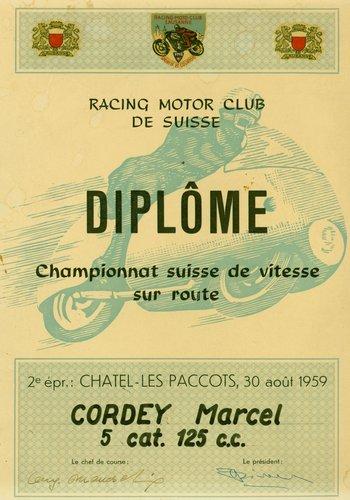 Racing Motor Club de Suisse 1959