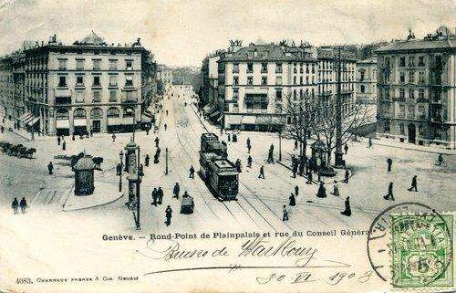Genève, Rond-Point de Plainpalais