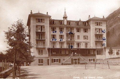 Zinal, hôtel des Diablons