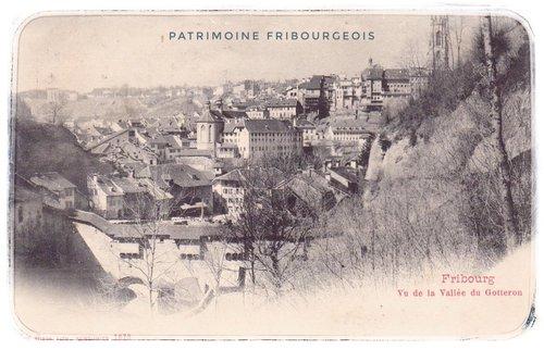 Vu de la Vallée du Gottéron