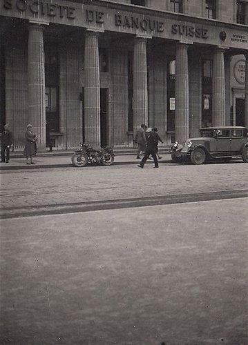 Lausanne Saint François Société de Banque Suisse