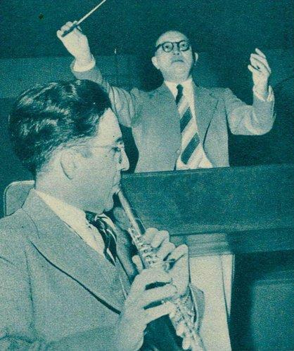 André PÉPIN et Isidore KARR en 1942