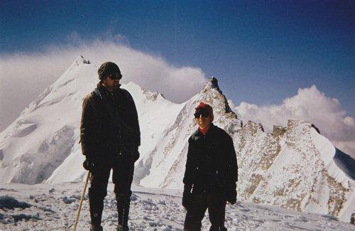 Au sommet du Bishorn