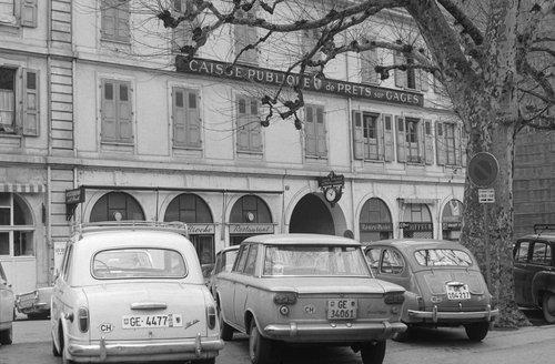 Genève, Caisse Publique de Prêts su Gages