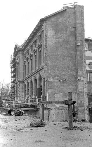 Genève, ruines du Grand-Théâtre