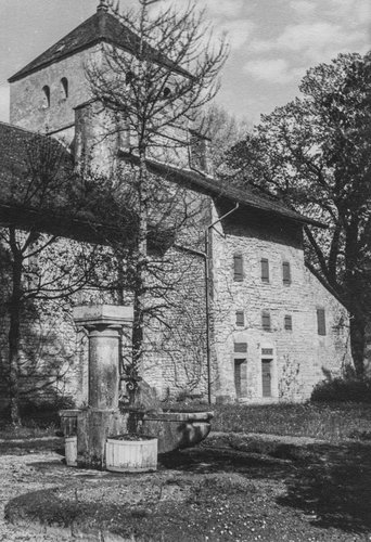 Transept et clocher de l'Abbaye de Bonmont