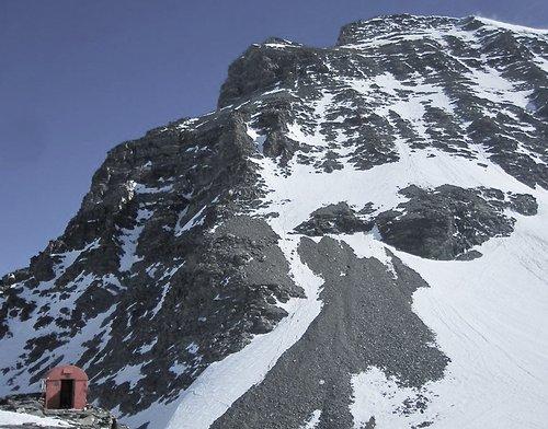 Bivouac Musso, 3664 mètres