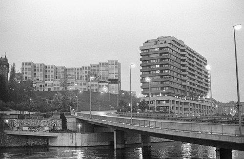 Genève, le pont de Sous-Terre